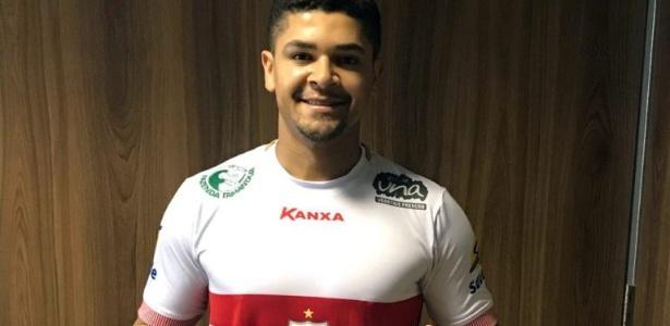 Aos 30 anos, jogador tem contrato para disputar Paulistão e Série B do Brasileiro