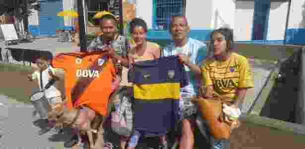 Torcida se divide no estádio e nas ruas em fim de semana de final adiada da Libertadores - Gustavo Mehl