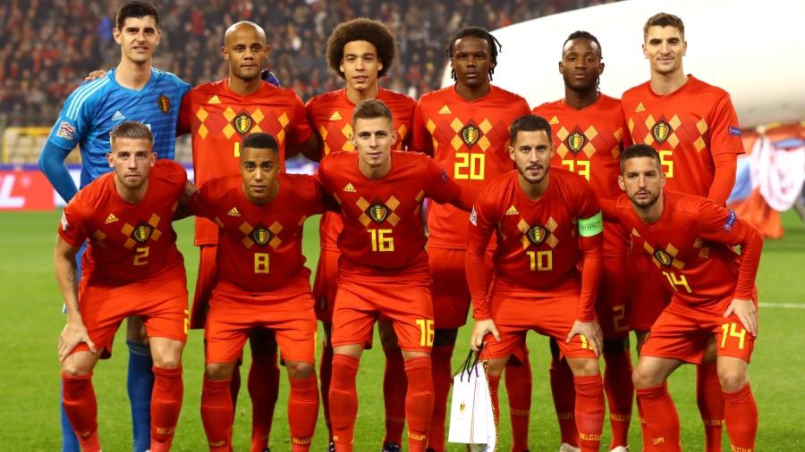 Apesar da manutenção do 1º lugar no ranking da FIFA, a Bélgica não se classificou para as finais da Liga das Nações - Dean Mouhtaropoulos/Getty Images