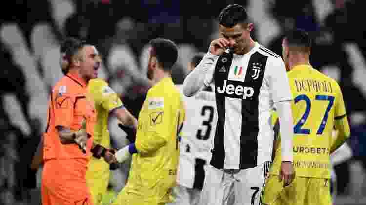 Cristiano Ronaldo perde pênalti - Marco BERTORELLO / AFP - Marco BERTORELLO / AFP
