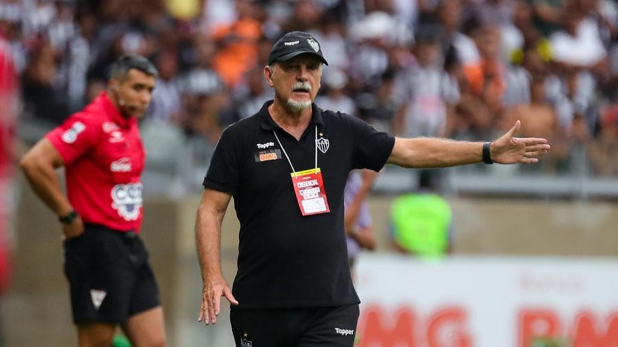 Luiz Matter, auxiliar técnico do Atlético-MG, faz análise sobre vitória diante do América-MG - Bruno Cantini/Divulgação
