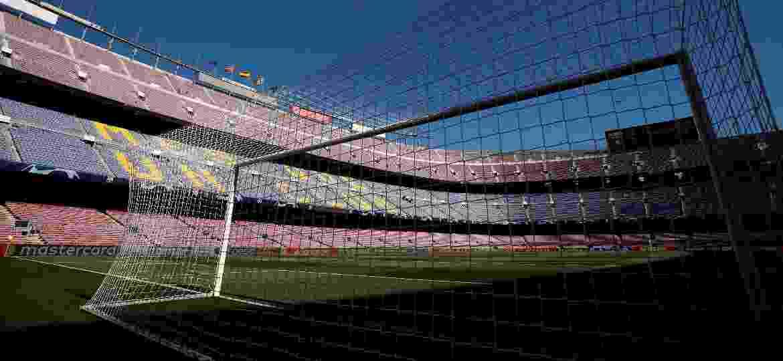 Camp Nou recebe o jogão entre Barcelona x Liverpool, marcado para as 16h (de Brasília) - Albert Gea/Reuters