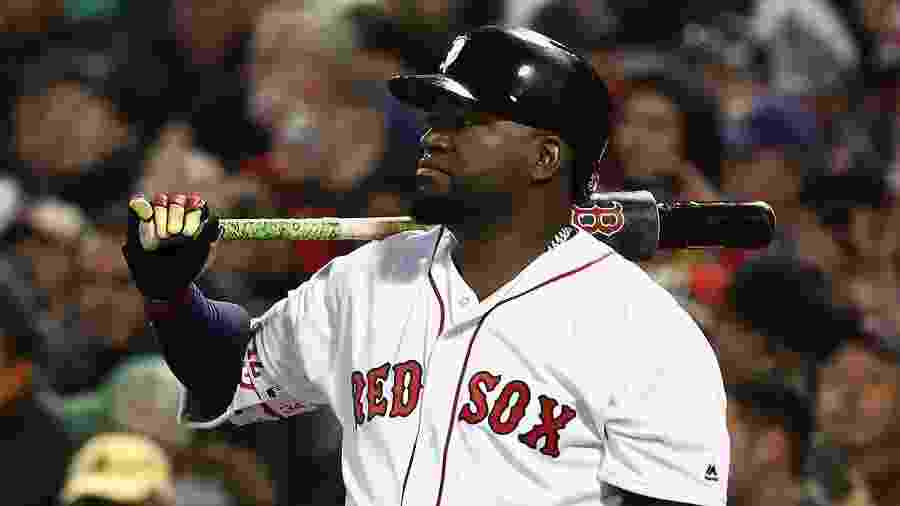 David Ortiz quando atuava no Boston Red Sox - AFP
