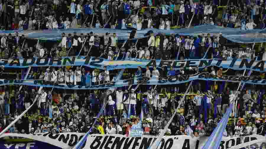 Argentina faixa barra bravas - Gabriel Rossi/Getty Images