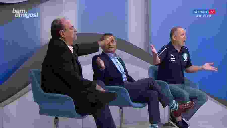 Mano Menezes e Bodão discutem no Bem, Amigos! - Reprodução/SporTV