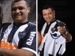 Juiz Carlos Ney Pereira Gurgel, que julgou o caso Sasha, com a camisa do Atlético-MG - Reprodução - Reprodução
