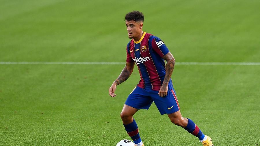 Philippe Coutinho não faz parte dos planos do Barcelona para a próxima temporada - Josep LAGO/AFP