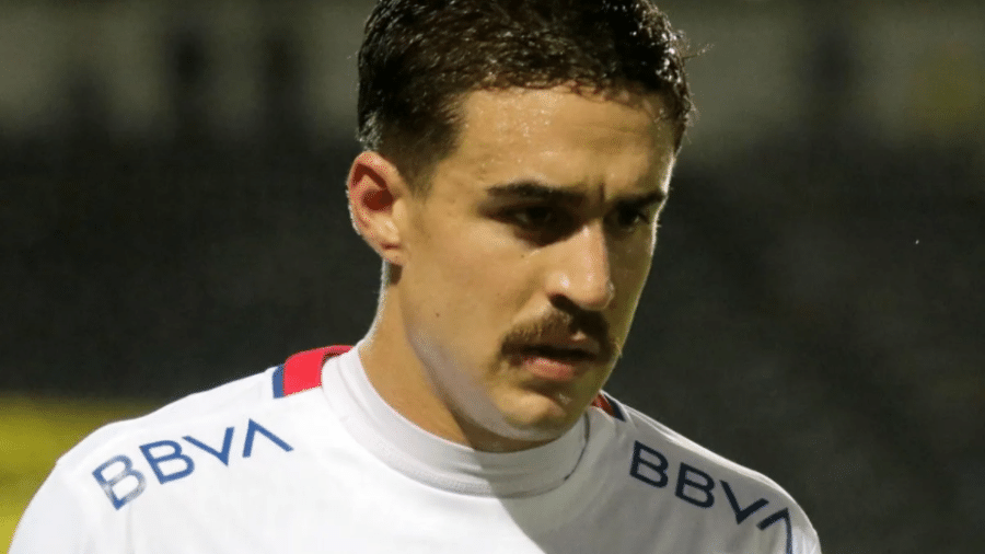 Gabriel Neves, volante do Nacional-URU - Reprodução/Twitter Nacional-URU
