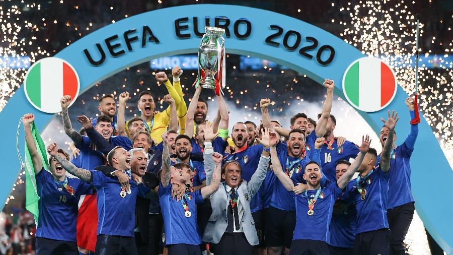 Itália e Argentina se enfrentarão em junho de 2022 - Eddie Keogh - The FA/The FA via Getty Images