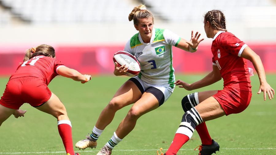 Brasil estreia no rúgbi feminino nos Jogos Olímpicos de Tóquio - REUTERS/Siphiwe Sibeko