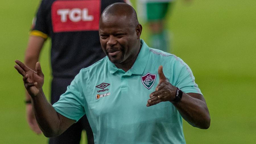 Marcão criticou VAR e lamentou empate do Fluminense no Campeonato Brasileiro - MAGA JR/ESTADÃO CONTEÚDO