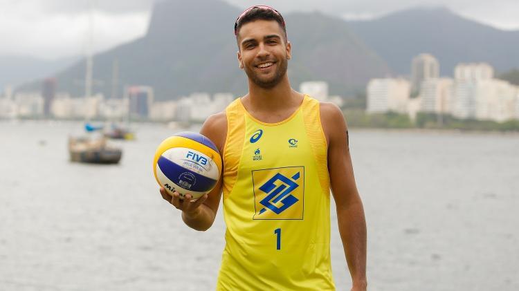 Vinicius Freitas, jogador de vôlei de praia do Brasil - William Lucas/Inovafoto/CBV - William Lucas/Inovafoto/CBV