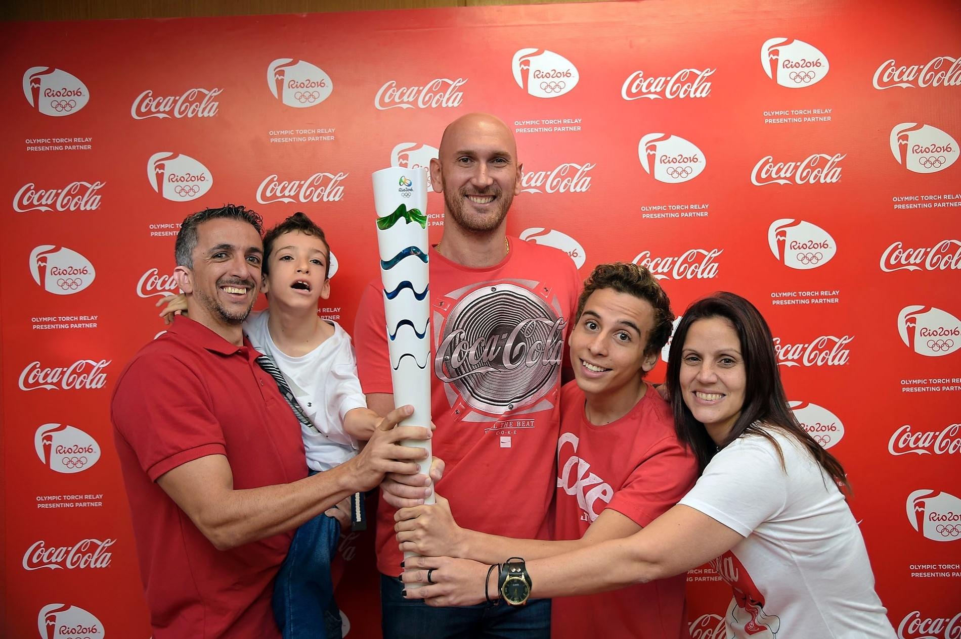 Nalbert é o primeiro anunciado no revezamento da tocha da Rio-2016