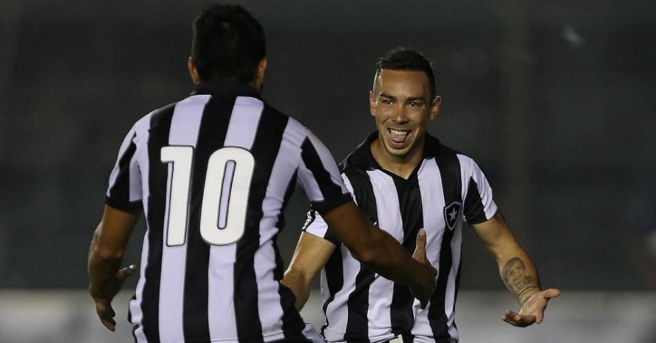Lízio comemora gol do Botafogo em partida do Carioca