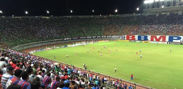 Bahia recebeu CRB em Pituaçu; Arena solicitou Fonte Nova para outro evento