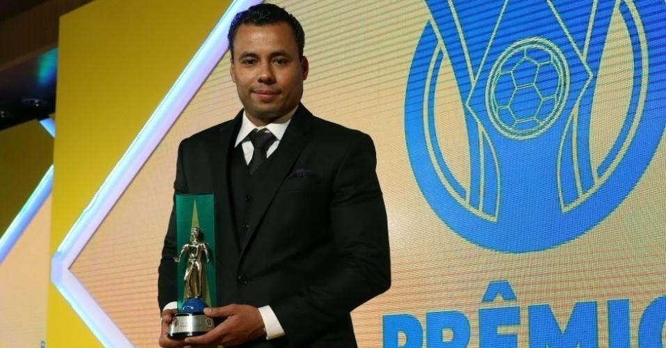 Jair Ventura foi considerado o treinador-revelação do Campeonato Brasileiro