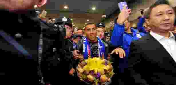 Tévez será o jogador mais bem pago do mundo no futebol chinês - AFP / STR / China