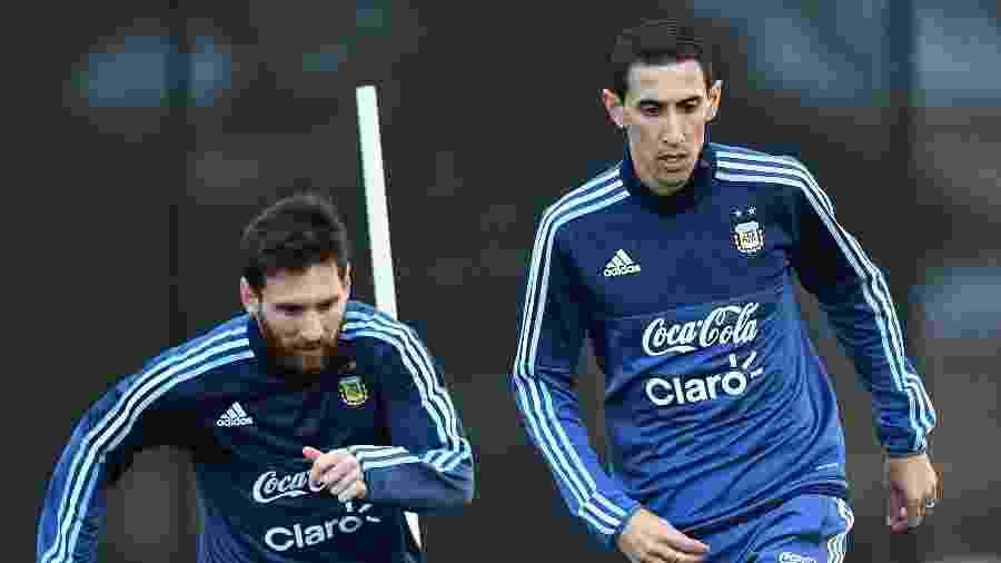 Ataque montado pelo meia argentino tem Di Maria, Neymar e CR7 - Quinn Rooney/Getty Images