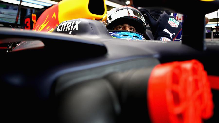 Daniel Ricciardo, da Red Bull, durante GP da Áustria - Mark Thompson/Getty Images