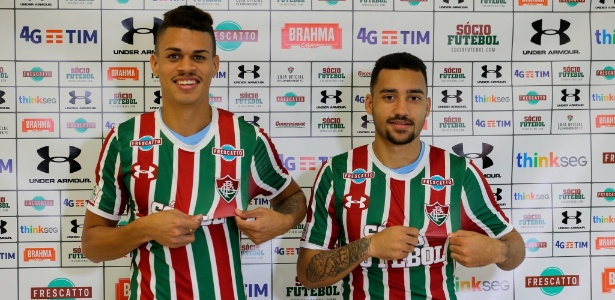 Richard e Robinho foram duas das últimas apostas do Fluminense no mercado - Lucas Merçon/Fluminense