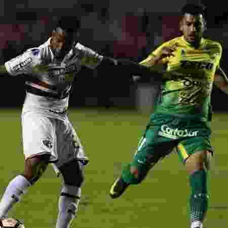 Andrés Rios eliminou o São Paulo na Sul-Americana pelo Defensa y Justicia - Rubens Chiri / Site oficial do São Paulo