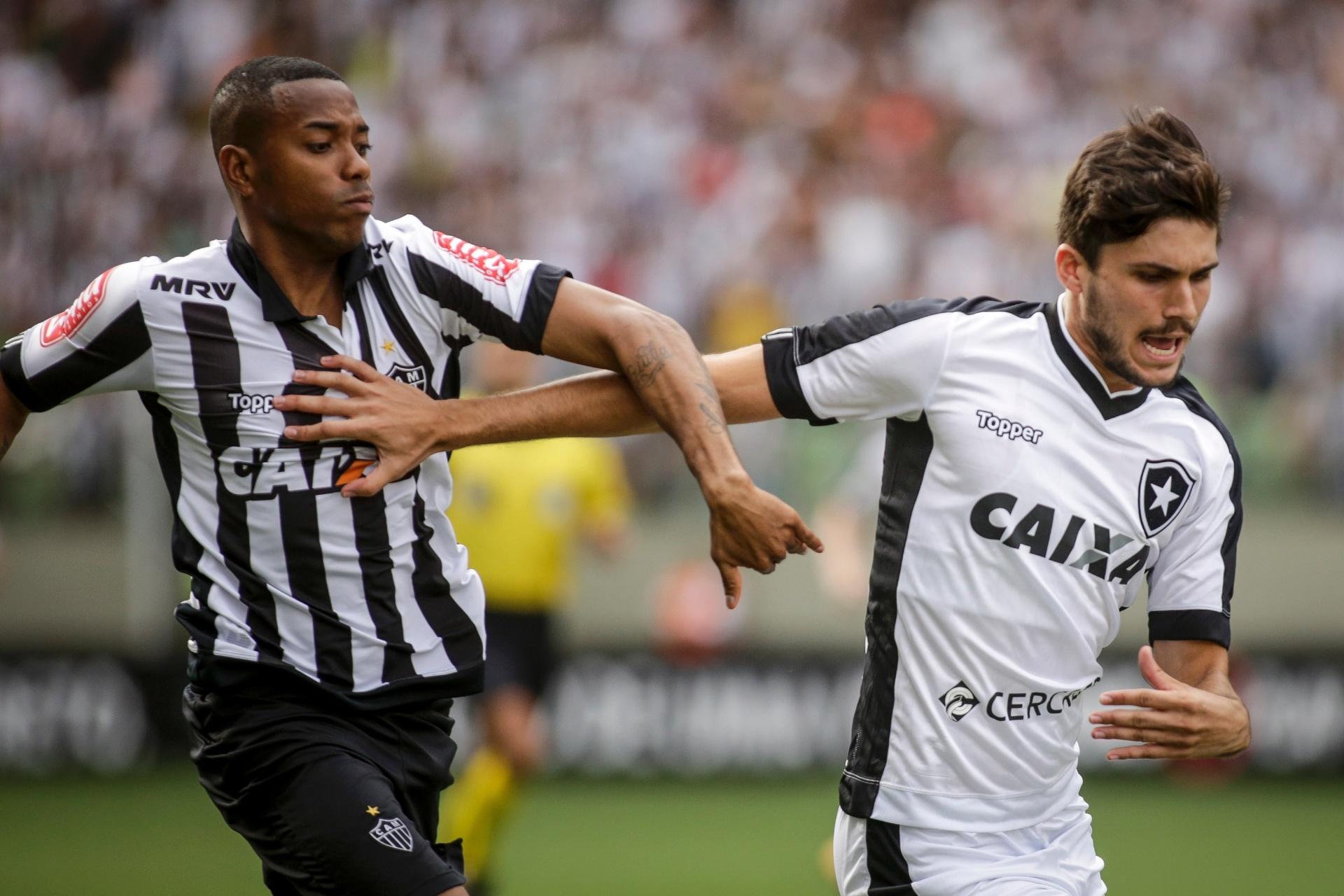 d43462a5745ca Atlético-MG e Botafogo empatam jogo em briga por vaga na Libertadores -  29 10 2017 - UOL Esporte