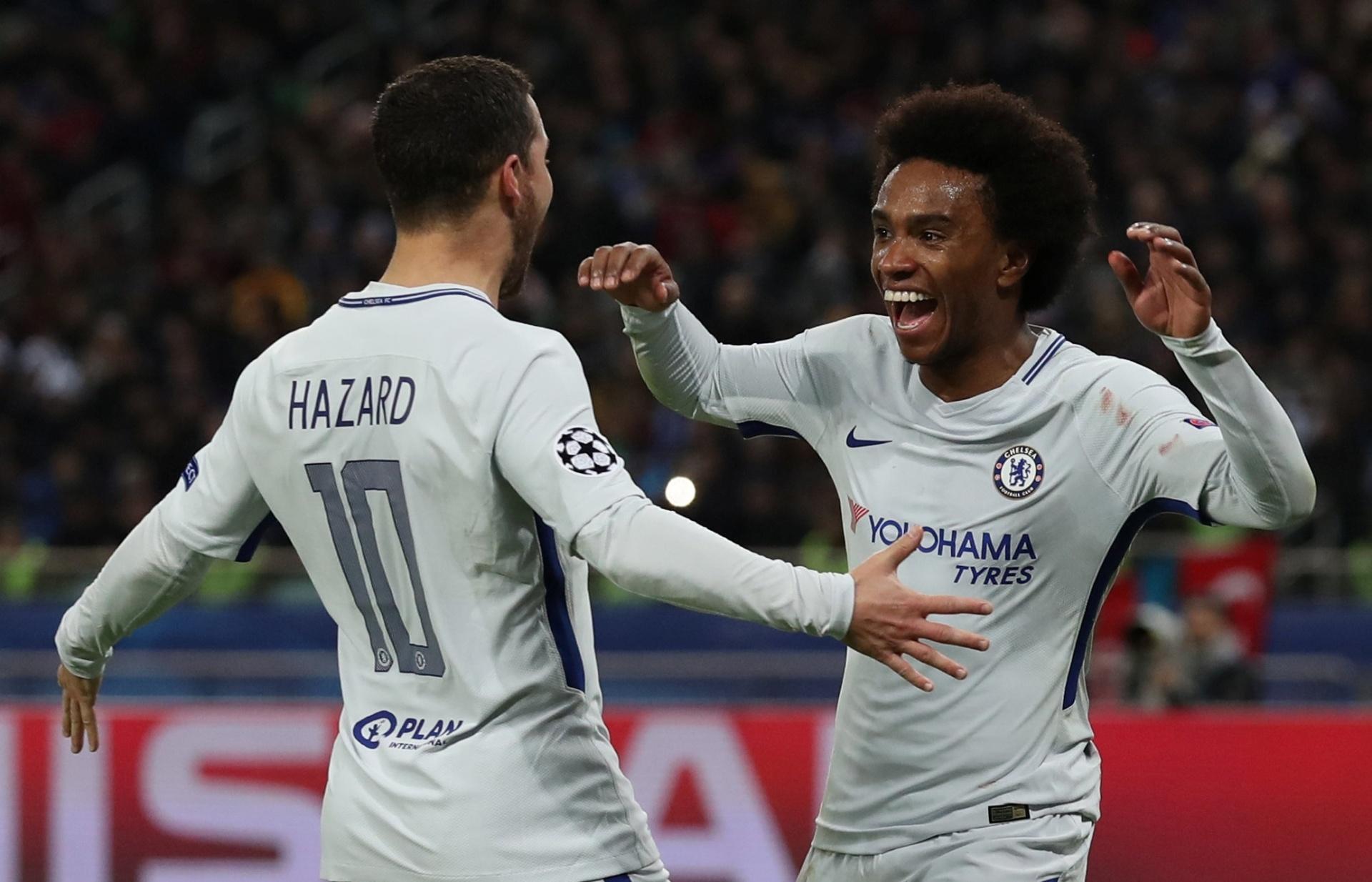 8bb3ba1b36 Willian não descarta sair do Chelsea  mais chances e Conte decidirão futuro  - 23 11 2017 - UOL Esporte