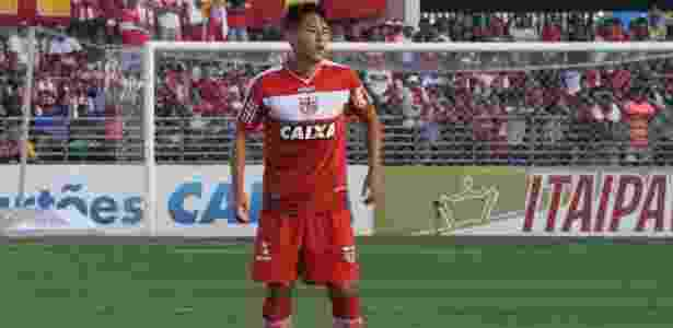 Chico foi destaque do CRB na Série B: gols contra o campeão e líder em faltas recebidas - CRB/Divulgação