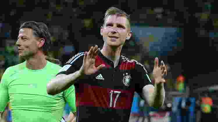 Mertesacker comemora vitória da Alemanha contra o Brasil - Jean Catuffe/Getty Images - Jean Catuffe/Getty Images