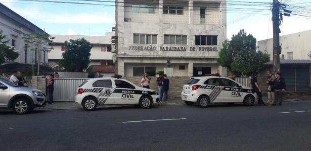 Operação Cartola realizou busca e apreensão na sede da Federação Paraibana de Futebol