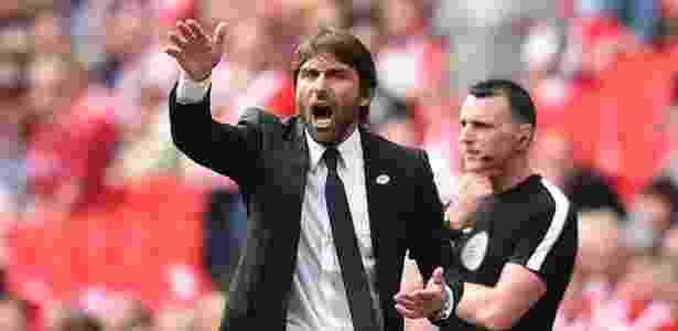Antonio Conte, do Chelsea - Glyn Kirk/AFP - Glyn Kirk/AFP