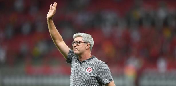 Odair Hellmann tem contrato pronto para renovar com o Internacional - Ricardo Duarte/Inter