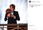 """Jogadores parabenizam Modric por Bola de Ouro: """"Um luxo jogar ao seu lado"""" - reprodução/Instagram"""