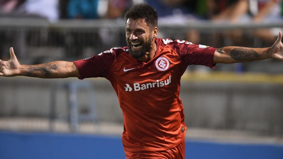 Rafael Sobis disparou contra a Federação Gaúcha de Futebol após a final do Estadual - Ricardo Duarte/Inter