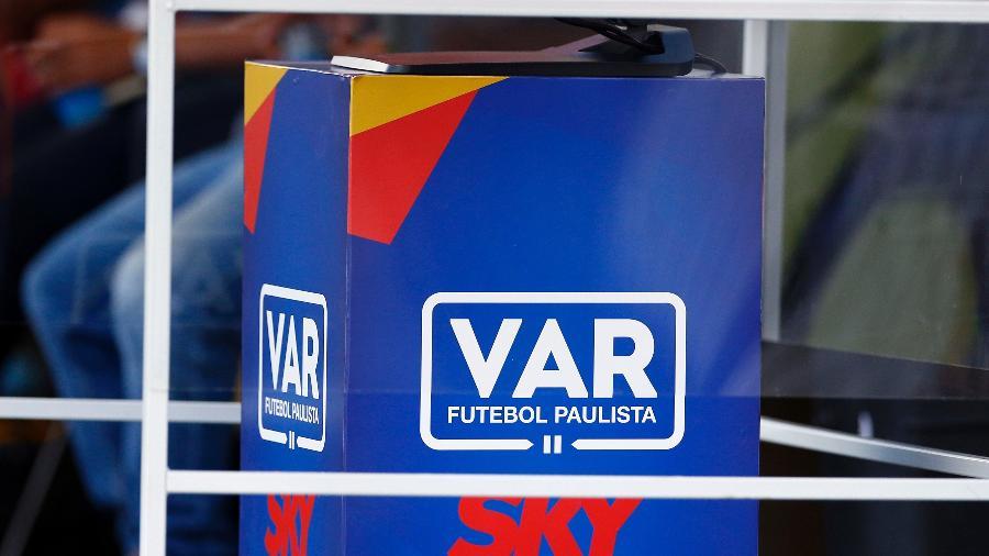 Cabine do VAR usada pelo Campeonato Paulista - Thiago Calil/AGIF