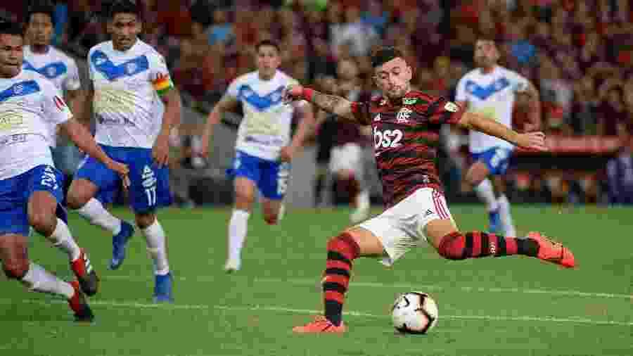 Partida com mais espectadores na ferramenta do Facebook foi Flamengo 6 x 1 San Jose (BOL) - Alexandre Vidal / Flamengo