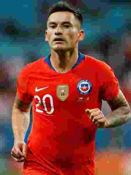 Charles Aranguiz, jogador da seleção do Chile - REUTERS/Diego Vara