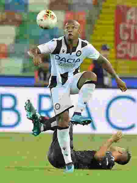 Samir, zagueiro da Udinese - Divulgação/Udinese - Divulgação/Udinese