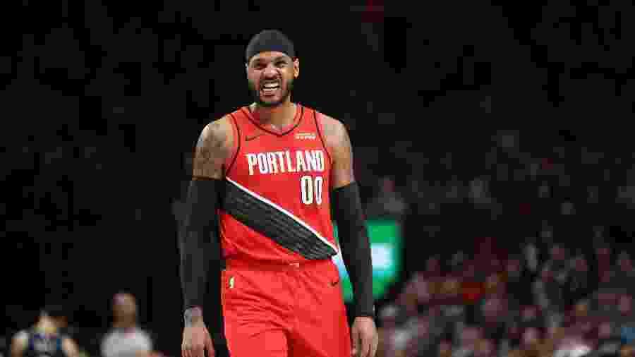 Carmelo Anthony ficou muito tempo parado, mas mostrou que ainda tem valor na NBA - Jaime Valdez/USA Today