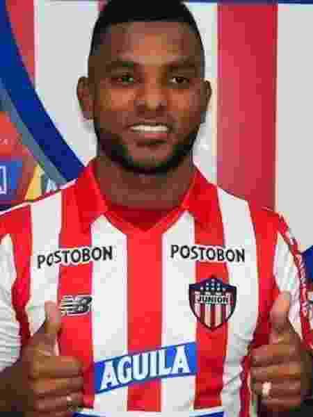 Miguel Borja, ex-Palmeiras, está na mira do Besiktas, da Turquia - Divulgação
