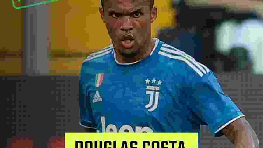 Douglas Costa participa do Torneio Futebol Muleke - UOL