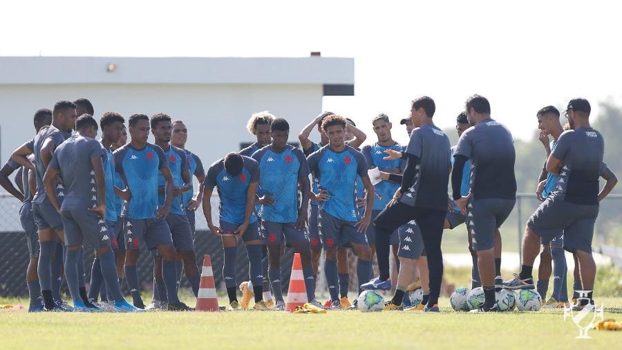 Sub-20 do Vasco treina no CT de Caxias de olho na Supercopa do Brasil - Rafael Ribeiro/Vasco