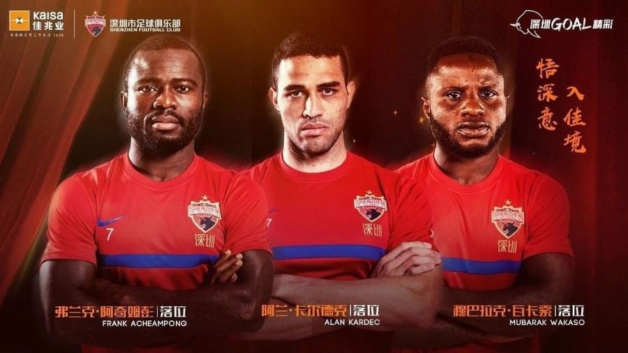 Alan Kardec é anunciado como novo reforço do Shenzen FC, da China - Instagram