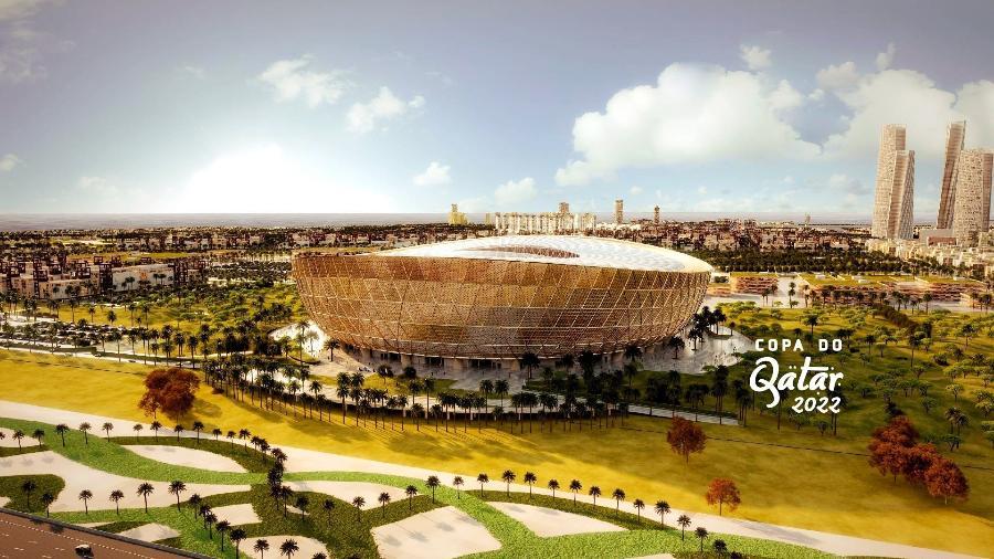 Estádio da final está com obras na fase final - Divulgação/Fifa