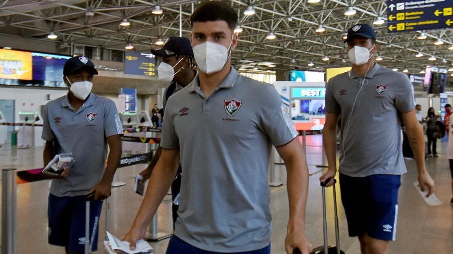 Fluminense já viajou para a Colômbia para enfrentar o Junior Barranquilla pela Libertadores - Mailson Santana/Fluminense FC