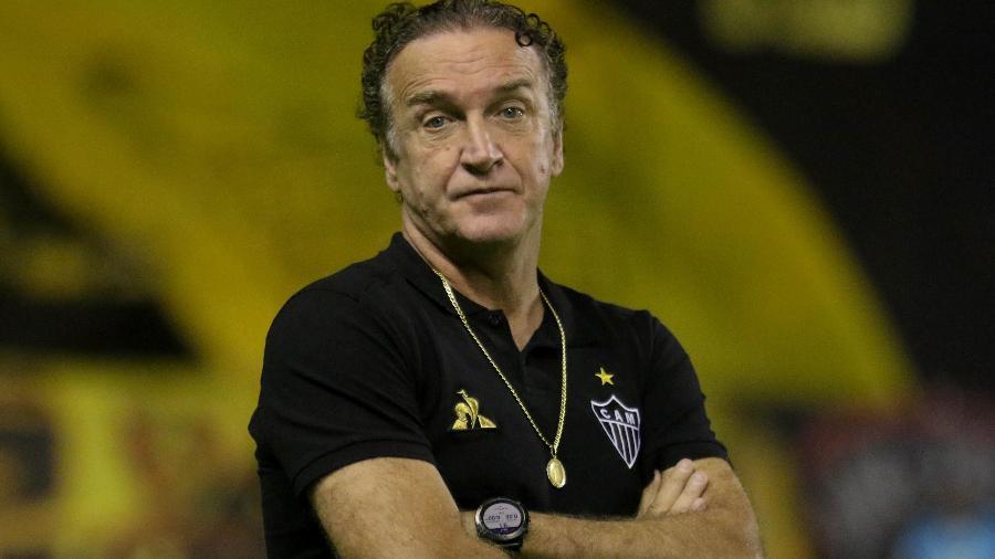 Cuca completa 58 anos nesta segunda-feira (7); ele tem 70% de aproveitamento na segunda passagem pelo Atlético-MG - Marcel Lisboa/AGIF