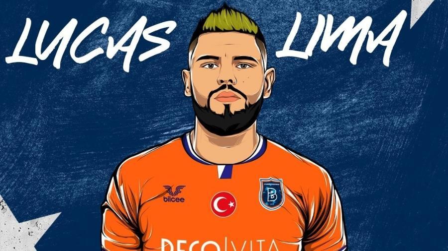 Time turco anuncia xará de Lucas Lima e agita torcedores do Palmeiras - Twitter