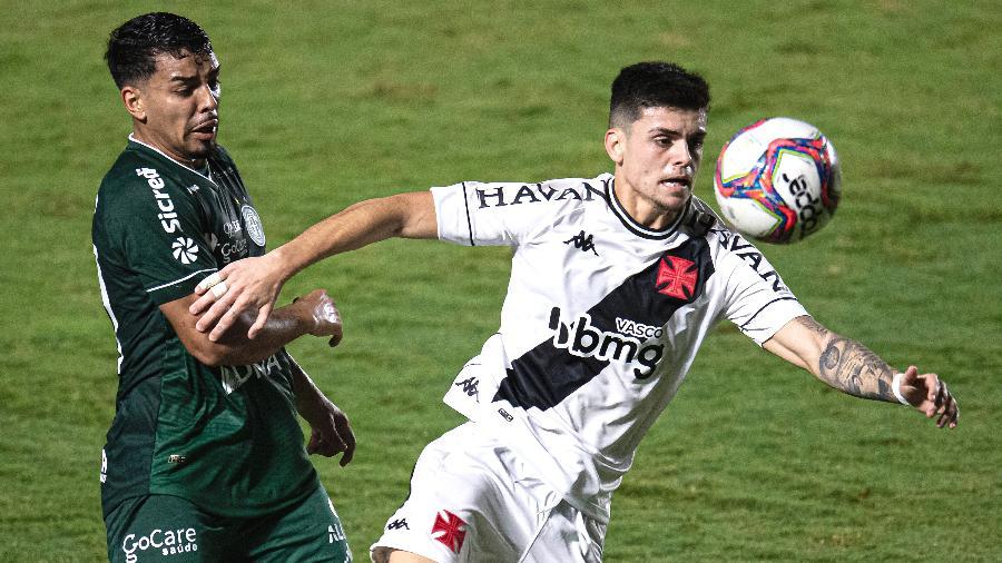 Gabriel Pec, meia do Vasco, no jogo contra o Guarani, pela Série B - Jorge Rodrigues/AGIF