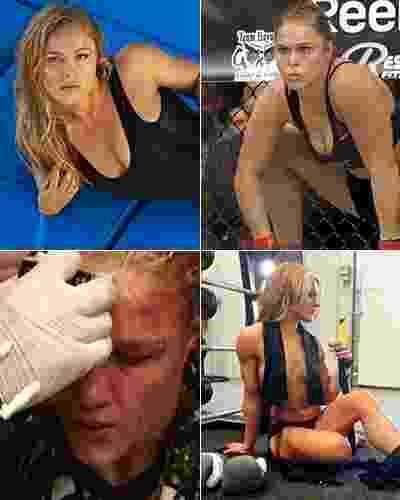 Já é fato que as mulheres se tornaram realidade como uma das grandes atrações do MMA, e em especial do UFC. As lutas emocionantes, as histórias e, em alguns casos, a beleza, chamaram a atenção. E, por falar em beleza, boa parte das garotas não deixa de ter um lado vaidoso quando está fora do octógono e da academia. - Arte/UOL