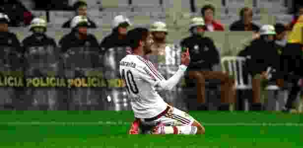 Gustavo Scarpa é elogiado por Eduardo Baptista - Nelson Perez/Fluminense FC
